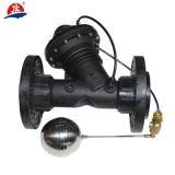 Válvula de controle plástica de grande resistência da água, válvula de diafragma