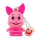 호랑이 또는 나귀 또는 돼지 USB 플래시 메모리 만화 USB Pendrive