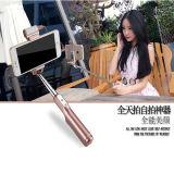 Bâton de Selfie de câble par télescope pliable coloré de bâton de Monopod Selfie