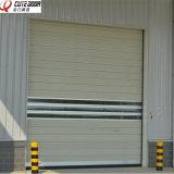 Безопасной изолированные высокой эффективностью двери Roll-up автоматического металла быстро