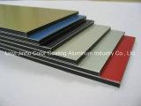 Панель панели стены высокого качества PVDF декоративная алюминиевая составная