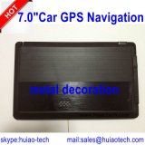 """熱い7.0 """"ひるみアームA7 800MHzを搭載する車GPSの航法システム"""