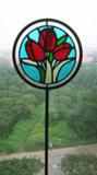 De Staak van de Tuin van het gebrandschilderd glas