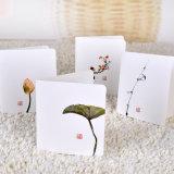 Kundenspezifische Drucken-Geschenk-Karte mit unterschiedlichem Papier