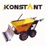 Лопаткоулавливатель снежка Konstant с миниым курганом Dumper для снежка Removel