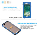 Случай крышки панцыря PC TPU подводных случаев телефона противоударный водоустойчивый с мешком крышки фингерпринта на iPhone 7 7 добавочных