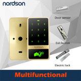 Controllo di accesso dello schermo attivabile al tatto RFID del metallo Nt-T12 (scheda +Code)