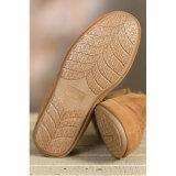 De zuiver Met de hand gemaakte BinnenSchoenen van de Pantoffels van de Schoenen van de Schapehuid