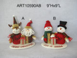 Regalo de la decoración del hogar de la Navidad del reno del muñeco de nieve de Santa