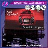 P10 tela de vídeo LED ao ar livre para construção de paredes
