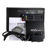 Cadre androïde du PRO 4k Amlogic S905 faisceau TV de quarte de Mxq
