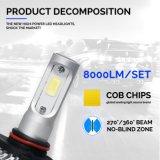 차 LED 헤드라이트 차 빛 LED 차 빛 S2 9005 9006 옥수수 속 72W 8000lm LED 헤드라이트