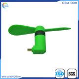 プラスチック携帯用旅行小さく再充電可能なDCのファン小型USBのファン