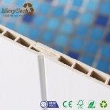 El panel de pared material compuesto integrado del PVC del papel de empapelar de DIY WPC