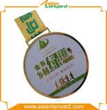 Goldmetallmedaillon-Sport-Preis-Medaille