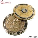 Горячая монетка возможности сувенира золота Antique сбывания