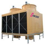 Gegenfluss-quadratischer Kühlturm