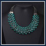 De nieuwe Juwelen van de Manier van de Halsband van de Oorring van de Stenen van het Glas van het Punt Acryl