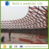 Telhadura da estrutura do frame de aço de baixo custo