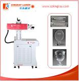 Grabado del laser del CO2 y máquina de cuero de la marca