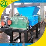 Triturador de eixo duplo para barril de plástico / Tubo / Resíduos de cozinha / Espuma / Resíduos municipais / Sucata / Pneu