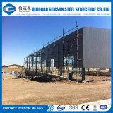 China fabrizierte Stahlkonstruktion-Lager-Hallen vor