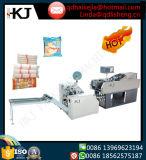 Carga automática y Solo-Raya de los tallarines que lían la máquina