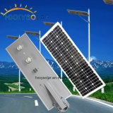 Solar Charged LED Street Lights, 70W Alimentation solaire Integrated Solar Street Light, 12V / 24V Solar Street Light