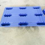 Tamanhos materiais do racking de HDPE/PP pálete lisa plástica dos vários para o transporte logístico
