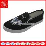 Плоские Loafers холстины комфорта для повелительниц