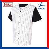 Таможня кнопки Mens дешевая все рубашки трикотажных изделий форм бейсбольной команды цвета