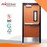 フルセットULのリストされたハードウェアが付いている金属のガラス火の評価されるドア