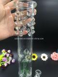 Bontek 16 polegadas de tubulação de água de vidro alta com o favo de mel à árvore Percs de 4 braços