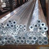 突き出されたアルミニウム正方形の管