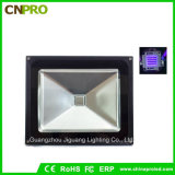 luz de inundação UV ultravioleta do diodo emissor de luz 50W IP65 connosco plugue ou plugue europeu