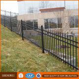 Frontière de sécurité soudée décorative extérieure de jardin de fer travaillé