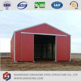 Entrepôt préfabriqué portique de structure métallique de qualité