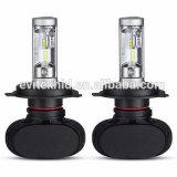 Bulbos do farol do diodo emissor de luz do carro H4 do S1 Fanless do automóvel & da motocicleta