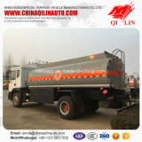 De dubbele Vrachtwagen van de Olietanker van het Vervoer van de Benzine van de Benzine van de As
