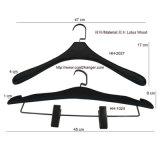 Schwarze spezielle Form-hölzerne Kleidung-Klage-Aufhängung