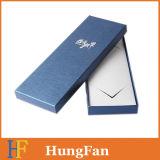 Het elegante het Stempelen van het Document Hete Vakje van de Gift van het Document van de Verpakking van het Embleem voor Band
