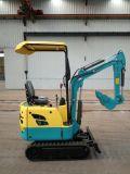 Miniexkavator-hydraulischer Löffelbagger We08 für Verkauf