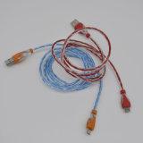 Новый приходя высокоскоростной Shining кабель USB СИД светлый