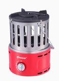 Calefator e fogão portáteis de gás com queimador de S/S