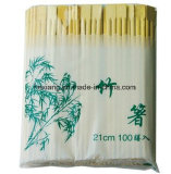 Palillos de papel de bambú de la cubierta u orden a granel en línea