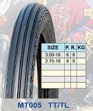 De motorfiets vermoeit 3.00-18 2.75-18