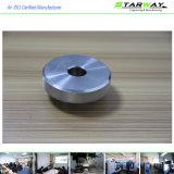 Peças fazendo à máquina do CNC da alta qualidade no material inoxidável e de alumínio