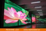 Installation fixe d'intérieur annonçant l'écran d'Afficheur LED/panneau/signe/le mur/panneau-réclame visuels