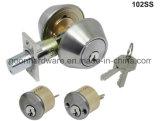 Fechamento de porta Deadbolt Lockset 102