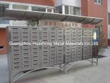 Caja clásica del acero inoxidable (HS-MB-018)